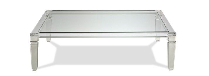 Lucite coffee table - Designers Collection