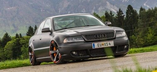 Audi RS4-Look an supertiefer B5-Limousine