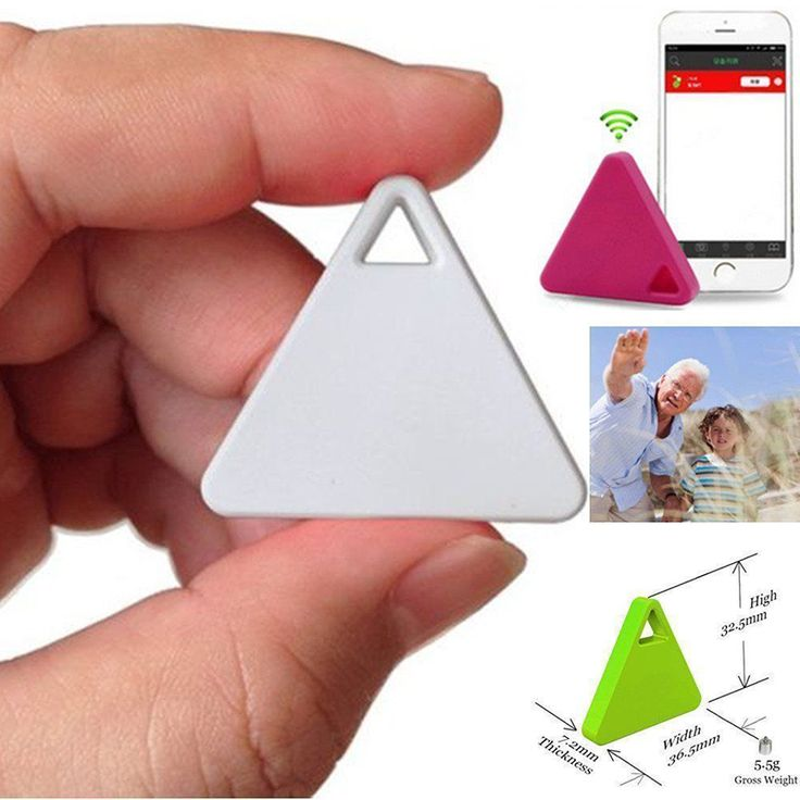 Ultra thin Triangles Smart Bluetooth Tracker FinderTag Child Bag Wallet Key Alarm GPS Locator Device-in Smart Activity Trackers from Consumer Electronics on Aliexpress.com | Alibaba Group