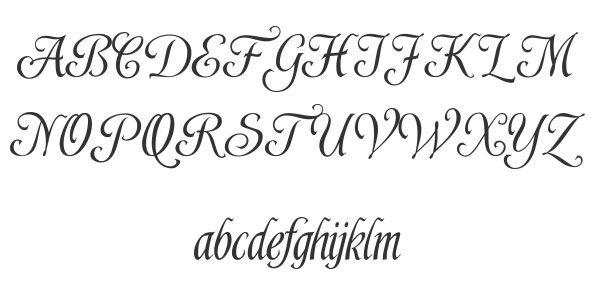 Calligraphy Font Alphabet Shardee 25 Best Calligraphy