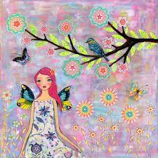 lovely day folk art - Google Search