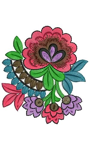 9384 Patch Embroidery Design