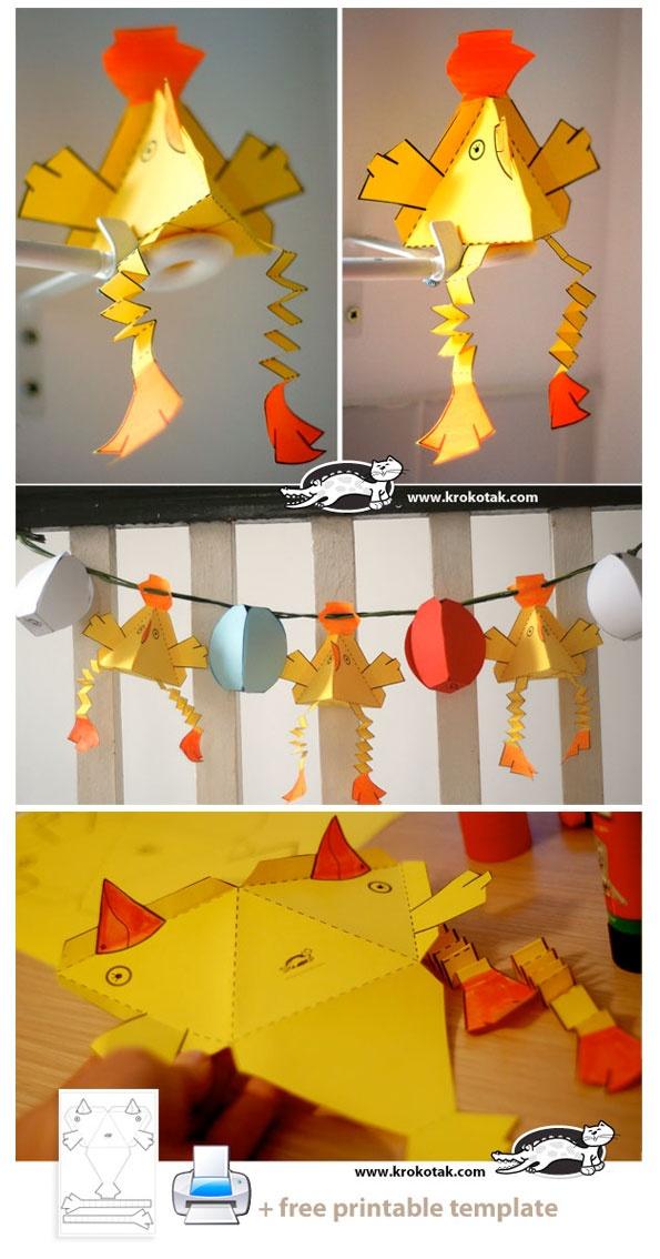 Easter Paper Crafts