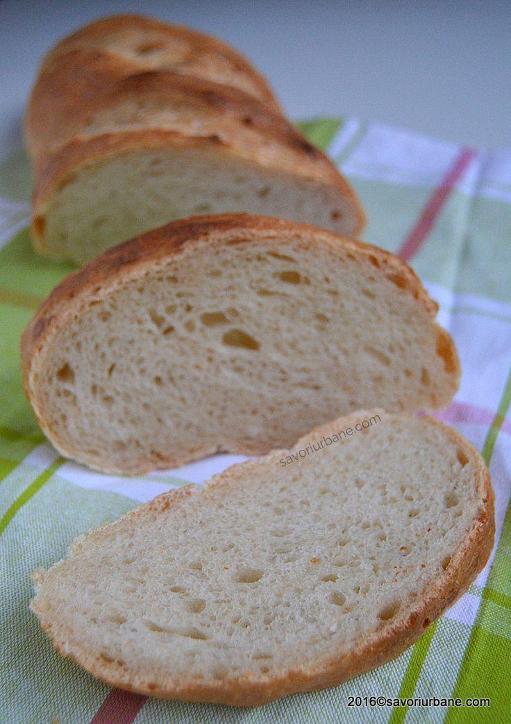Franzela de casa reteta simpla - ca la brutarie. O reteta de paine ca pe vremuri. Video cum se modeleaza o franzela de casa. Cum si cat se coace painea de