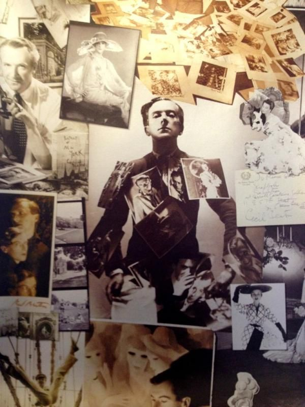 Cecil Beaton, scrapbook wallpaper