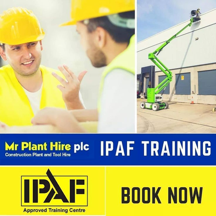 Good morning.  We still have spaces available this month on #IPAF  3a and 3b  #PASMA combined  Safety Harness and other courses.   Hit the link in our bio to check dates and availability  . . . . . . . . . #constructionworker  #healthandsafety #course #WorkingatHeight #training #tools #planthire #construction #buildingsite #building #cherrypicker #scissorlifts #forklifts #excavator #dumpers #lifting #constructionlife #liftingequiment #cranes #boomlifts #safetyharness #abrasivewheel…
