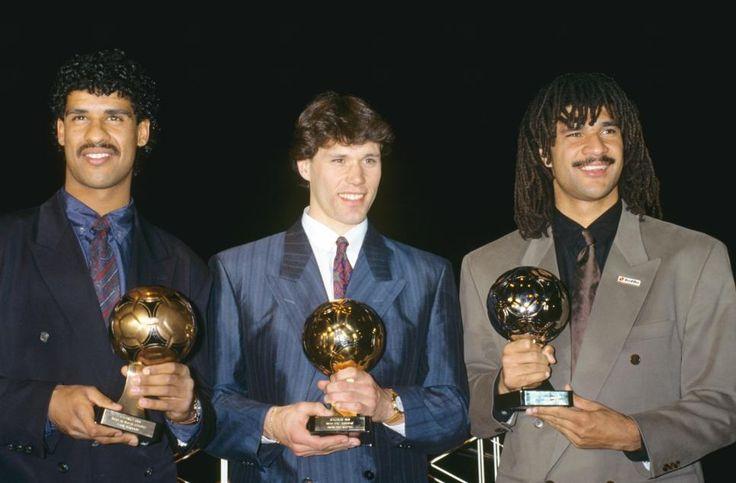 FOTO   Se acuerdan de estos cracks? Frank Rijkaard, Marco Van Basten et Ruud Gullit (AC Milan et Pays-Bas)