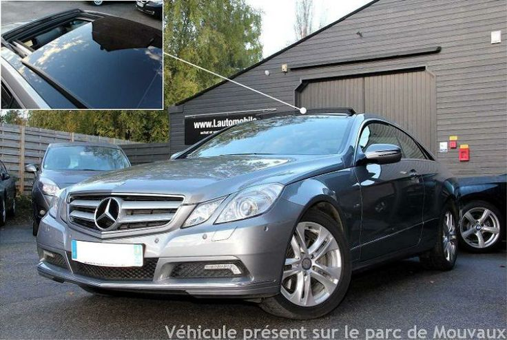 OCCASION MERCEDES CLASSE E IV COUPE 350 CDI BLUEEFFICIENCY EXECUTIVE BA7 7G-TRONIC