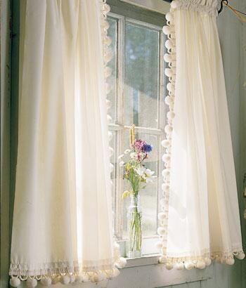 tier curtains classic ball fringe permapress tier curtains country curtains