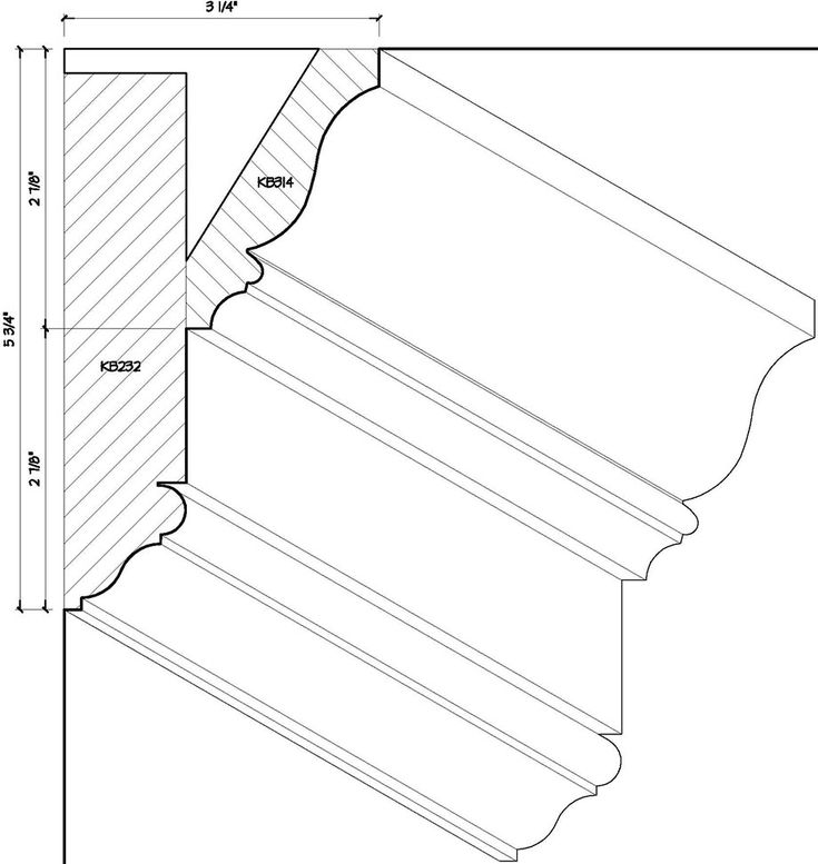 17 Best Ideas About Moulding Profiles On Pinterest Azek