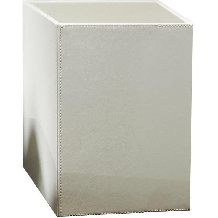 DWBA Square Small Hamper Laundry Basket Bathroom Storage - Artificial Leather
