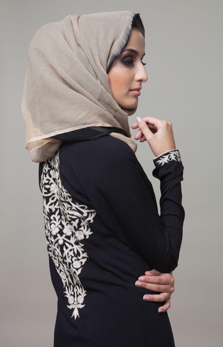 Hermosa Wrap #Abaya #Aab #WhatsNew #NewArrivals #Hijab #Gold #TheArtofEmbroidery #EidCollection #EidLuxe #Fashion #Style
