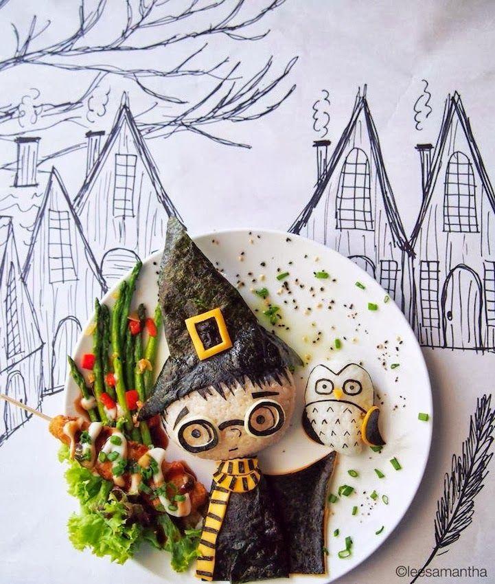 Harry Potter  - Art Foods