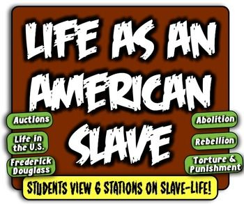 This lesson is included in the larger United States Industrialization unit, located here:The United State Industrialization Unit!Buy the bundle and save a bundle!-----------------------In this highly-engaging centers activity, students navigate through 6 different stations, each which focuses on a different aspect of life as a slave!Students learn about slave auctions, the abolitionist movement, slave rebellions, slave punishments, general life in the United States, and the role and…