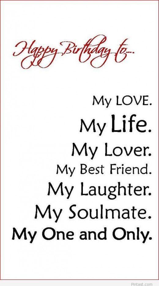 Brilliant 1000 Ideas About Happy Birthday Husband On Pinterest Happy Valentine Love Quotes Grandhistoriesus