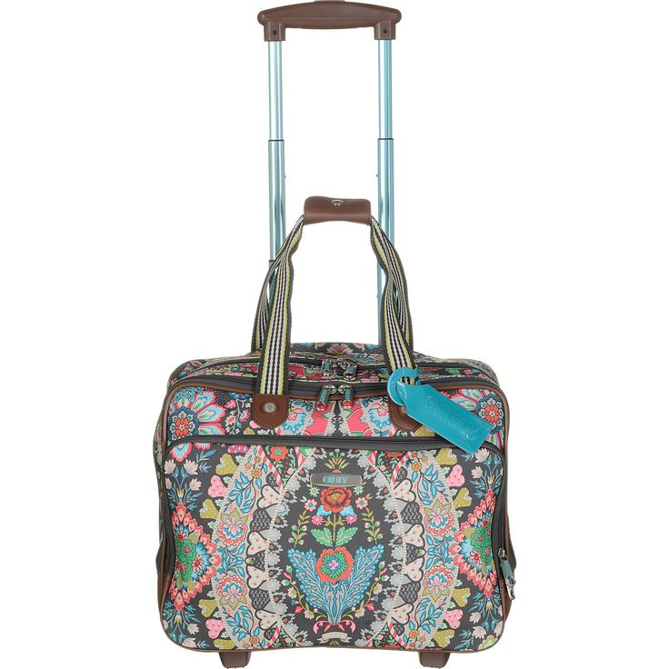Buy the Oilily Travel Office Bag On Wheels at eBags - Add color and personal style to your travel routine with this allover print roller bag from Oilily.