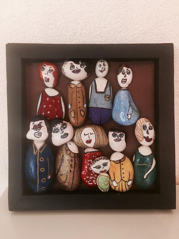 Картина выполнена детьми 2-5 лет совместно со взрослыми.
