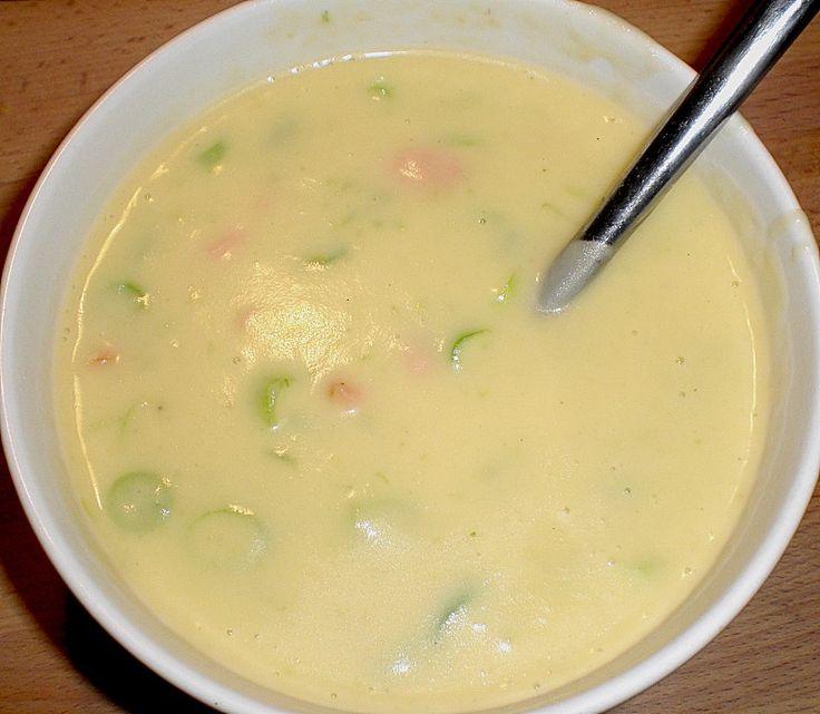 Feine Kartoffelsuppe mit Lachs 17