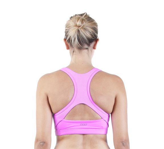 Lorna Jane Sorority Sports Bra - Maximum support sports bra ideal for high impact activities! Gorgeous sports bra that has bright and bold colour and a fun, exciting back! Find at Onsport.com.au