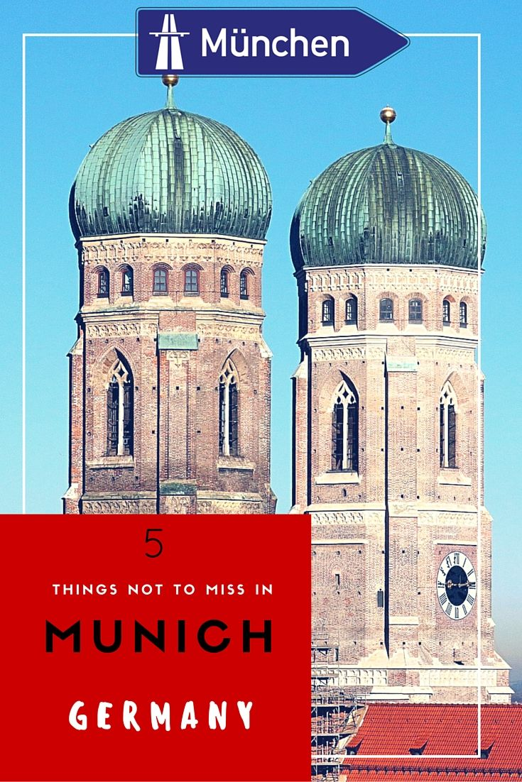 Beer, Pretzels and Pork knuckles are Munich specialities. Don't forget to experience the places, the museums, the parks and all the sites that make Munich OUTSTANDING