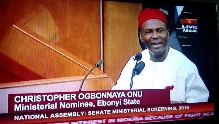 I'll Be The Best Minister In History Of Nigeria – Onu - https://www.thelivefeeds.com/ill-be-the-best-minister-in-history-of-nigeria-onu/