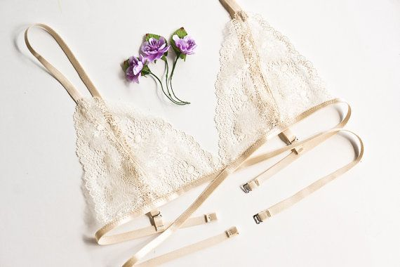 Lace sheer bralette see through lingerie underwear lace bra sexy honeymoon lingerie lace soft bra lacy triangle strappy intimates scalloped