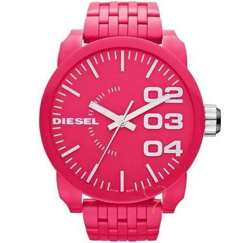 Ρολόι Diesel Franchise P57 Fuschia PVC Strap