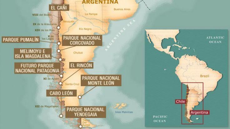 Douglas Tompkins le donó a Chile la mayor superficie de tierras privadas del mundo | Douglas Tompkins, Chile, Michelle Bachelet - América