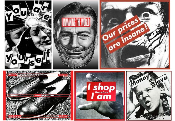 Barbara Kruger | WideWalls | Urban & Contemporary Art Resource