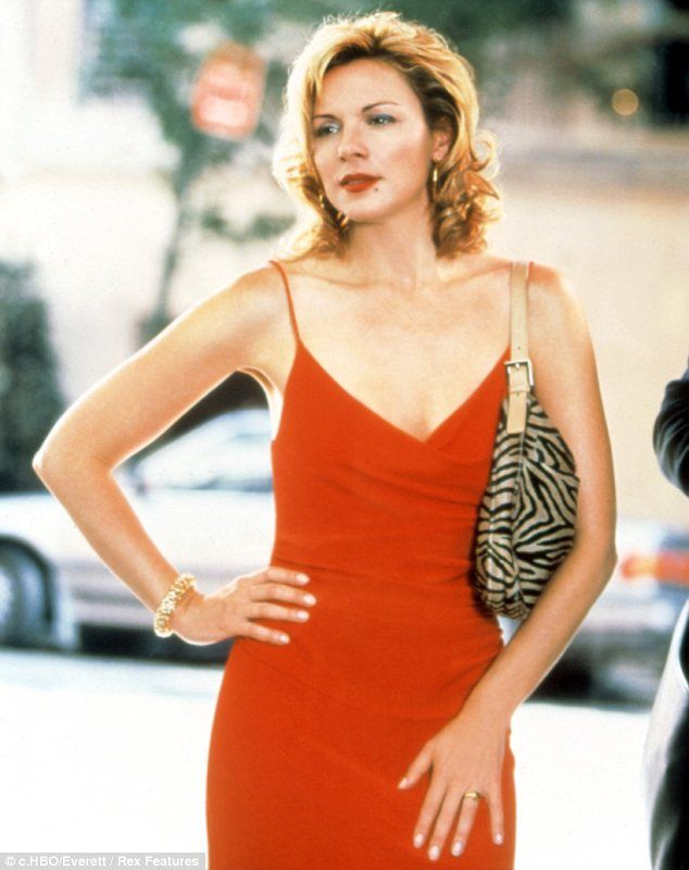 Big shoes to fill: The role was of course made famous by Kim Cattrall in Sex And The City