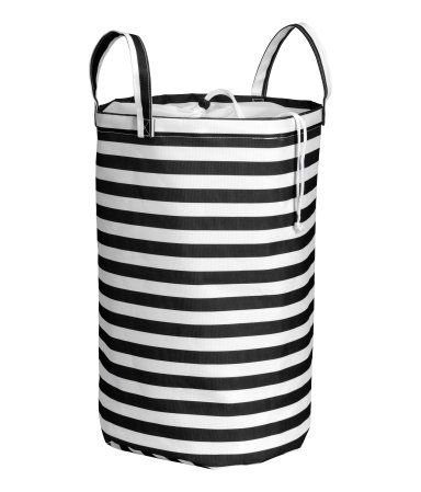 H&M Black & White Stripe Laundry Bag $14.95 (love this for Toy Storage or Kids Room too!)