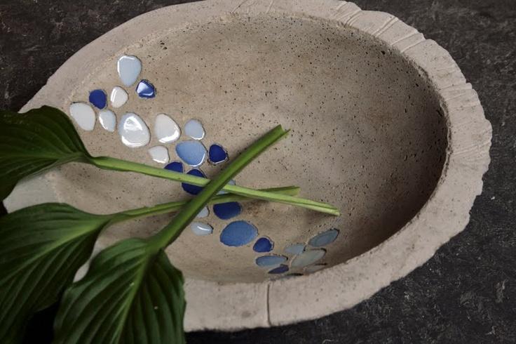 malenas trädgårdsprojekt: betongworkshop på Fridhems folkhögskola, 11-15 juli 2011