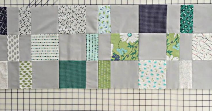 The Charm Pack Cherry Quilt Is A Great Beginner's Project!