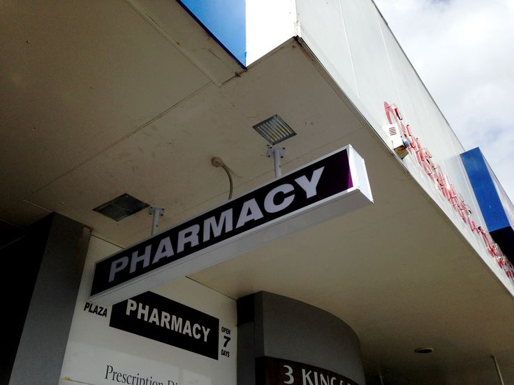 Lightbox for Three Kings Pharmacy by Speedy Signs Newton