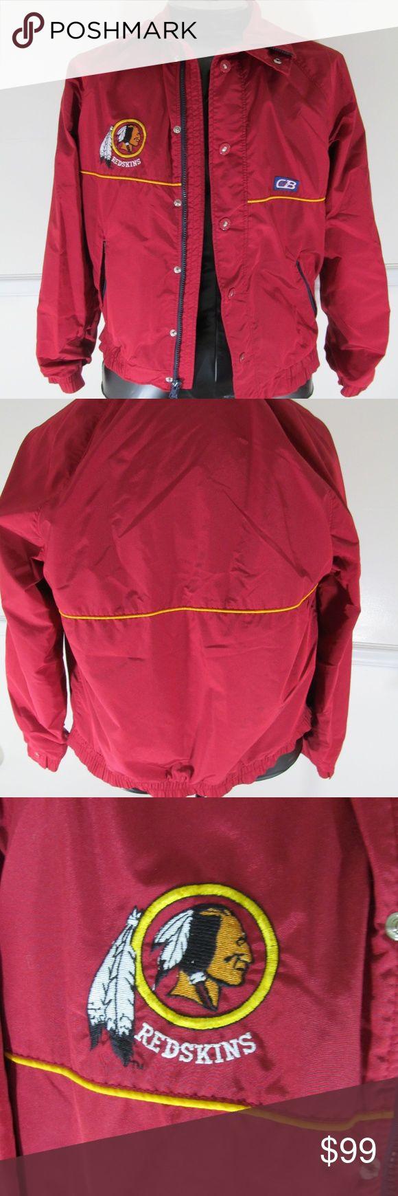 VINTAGE CB SPORTS WASHINGTON  REDSKINS JACKET CB SPORTS WASHINGTON  REDSKINS JACKET MEDIUM  D33 CB SPORTS Jackets & Coats
