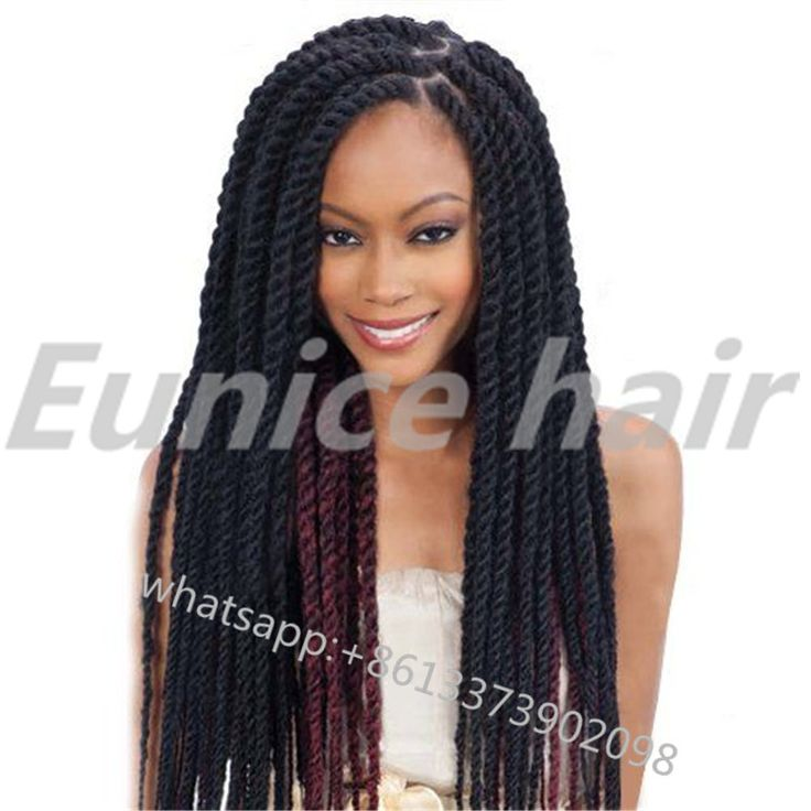 Crochet Hair Extensions Amazon : Mambo Crochet Twists Braids For Black Hair 12roots/Piece African Hair ...