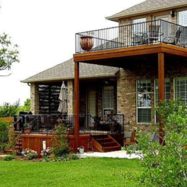 135 best multilevel deck and porch ideas images on pinterest for Second story balcony