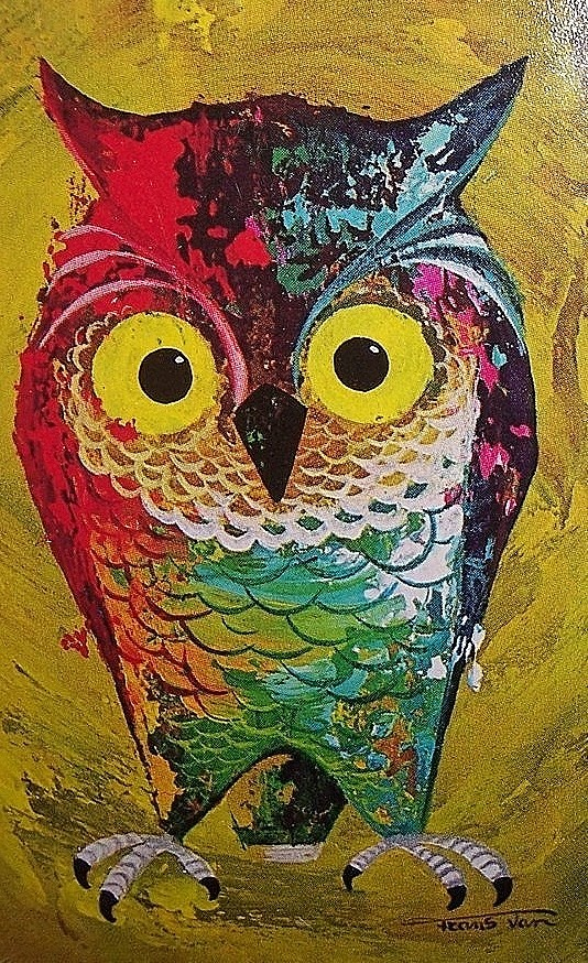 Vintage Owl Illustration