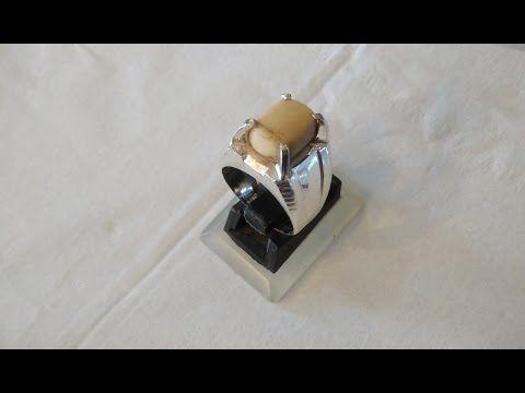Handmade Silver Ring Using Manual Tools (cincin perak buatan tangan) - YouTube
