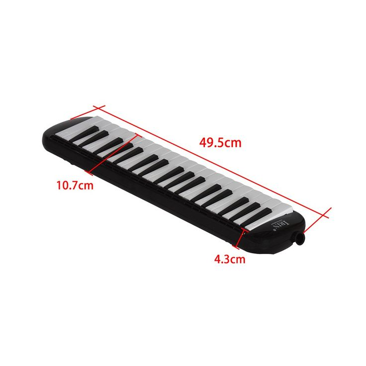 37 Piano Keys Melodica Pianica Musical Education Instrument Sales Online black - Tomtop