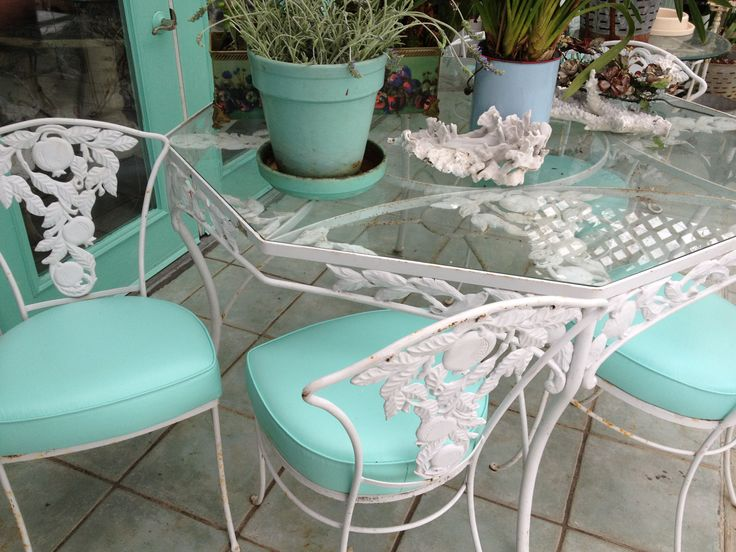 Find This Pin And More On Vintage Outdoor Furniture! ! By Craftylisbeth.