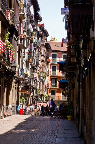 Bilbao: an important seaport, and the most inportant mining and steel-manufacturing city in spain.