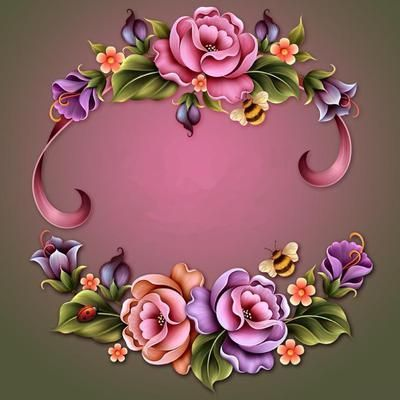 "Barnali Bagchi ~ ""Garden Enchanted"" ~ moonbeam1212."