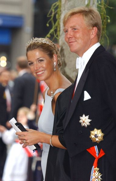 King Willem-Alexander and Queen Maxima of the Netherlands. Lovely picture of the two.