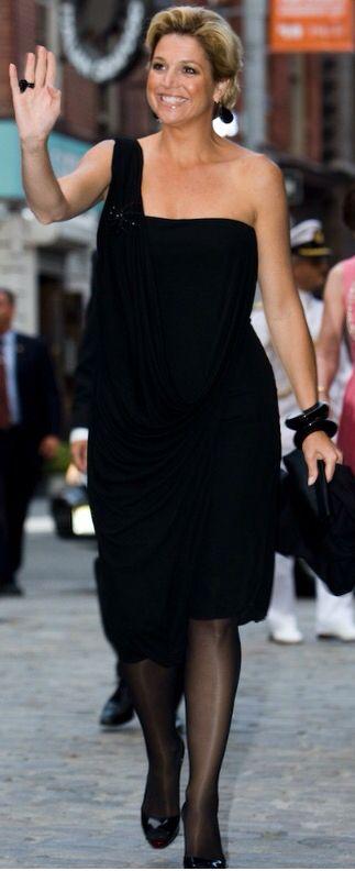 Queen Maxima - so elegant in black!