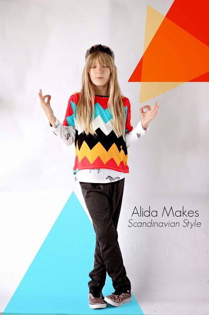 Boy, Oh Boy, Oh Boy!: Scandinavian Style Sewing: Alida Makes