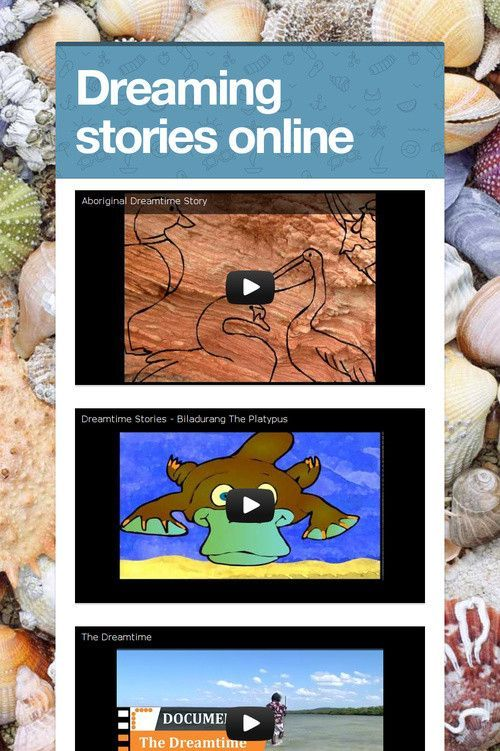 What makes a place special? Dreamtime: dreaming stories contain rich explanations of land formations, animal behaviour and plant remedies and pass on important knowledge, cultural values and belief systems.