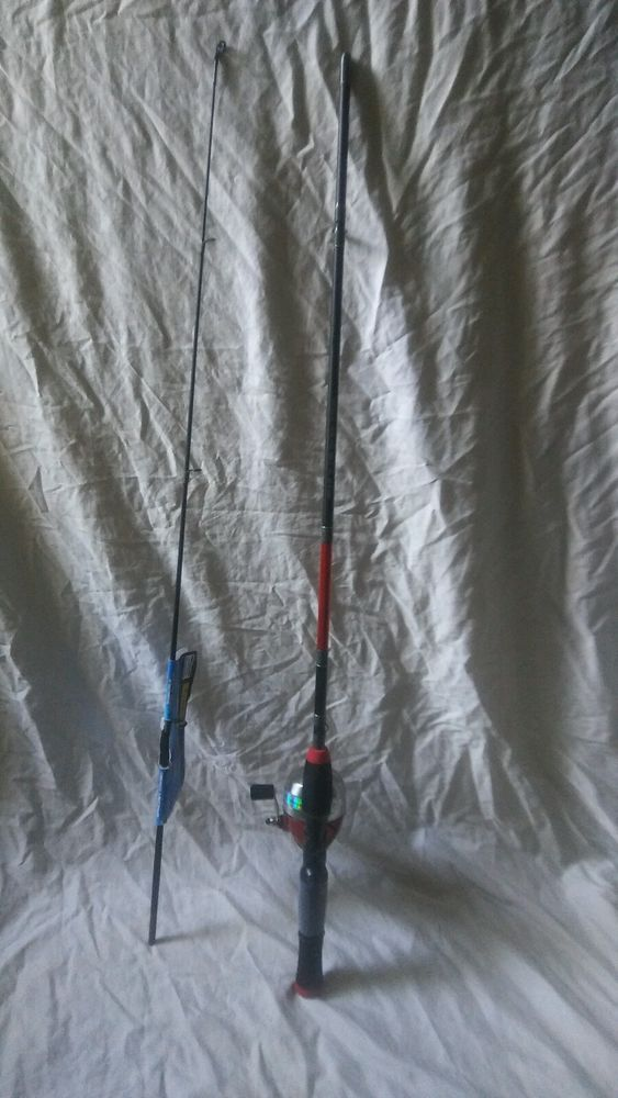 "Shakespeare Synergy Steel Spincast 5'6"" Light Rod & Reel Fishing Pole Combo #ShakespeareSpincast #FishingRods #FishingReel"