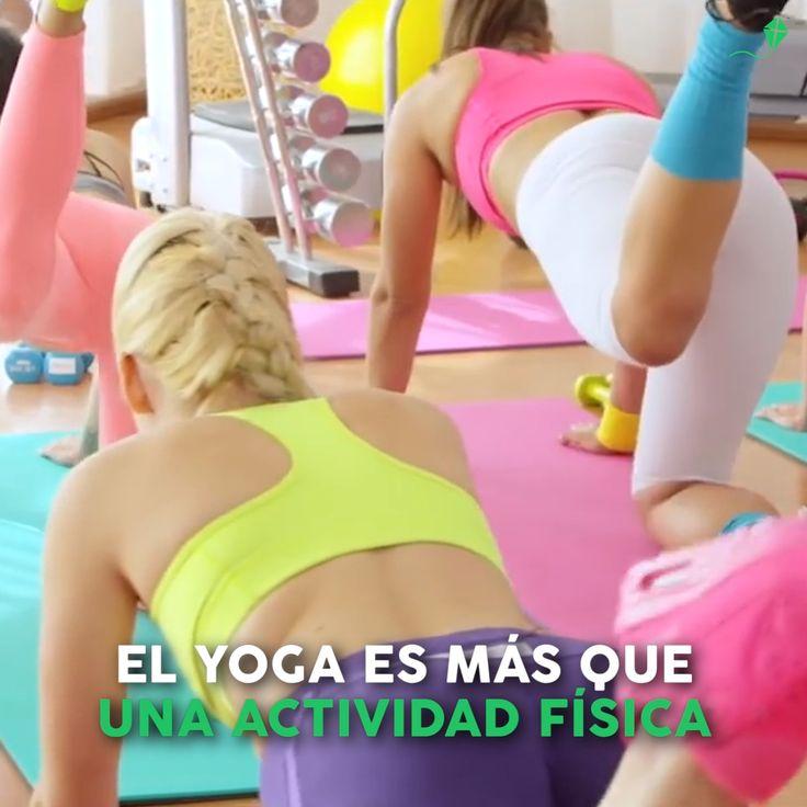 Conocé todos los beneficios que te da el yoga, más que una disciplina que une mente, cuerpo y espírit, es un estilo de vida. Pranayama, Yoga Kundalini, Yoga Facial, Mi Life, Gym, Fitness, Exercises, Swimwear, Ideas