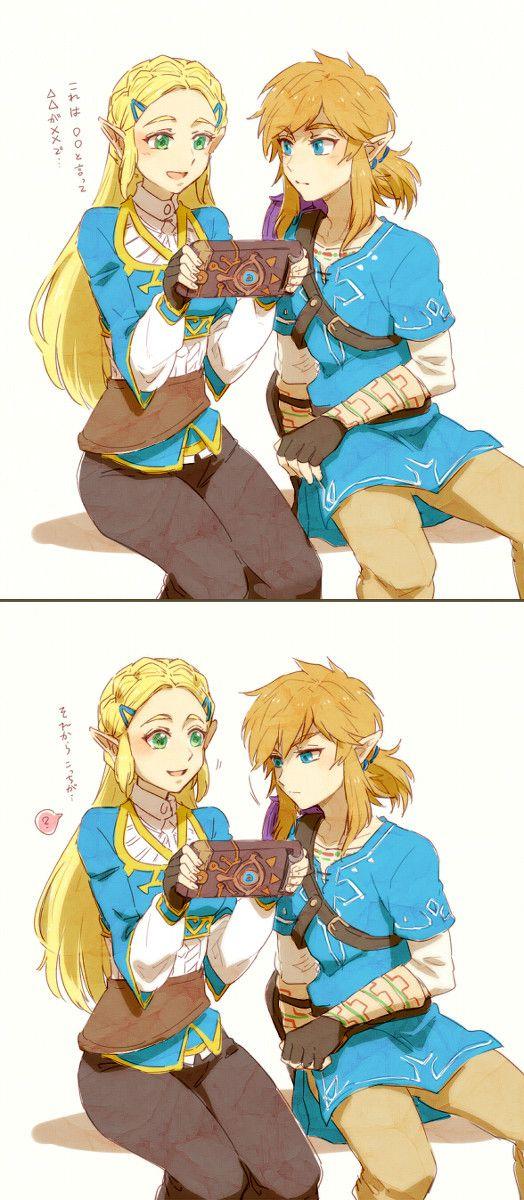Zelda, Link, The Legend of Zelda : Breath of the Wild